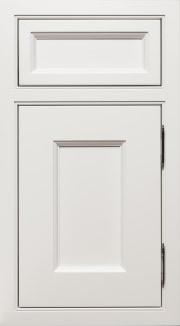 Hampton Paint Grade Dove White Single Bead Inset Polished Nickel Hinges 3.hd