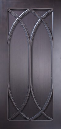 Gothic Double Arch Wood Panel.hd