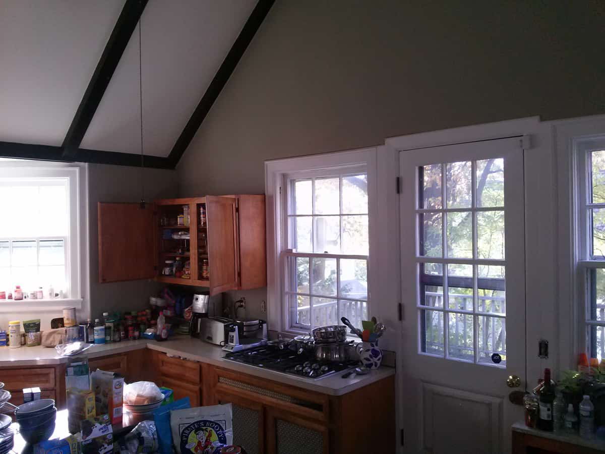 existing photos before Kitchen remodel in new rochelle