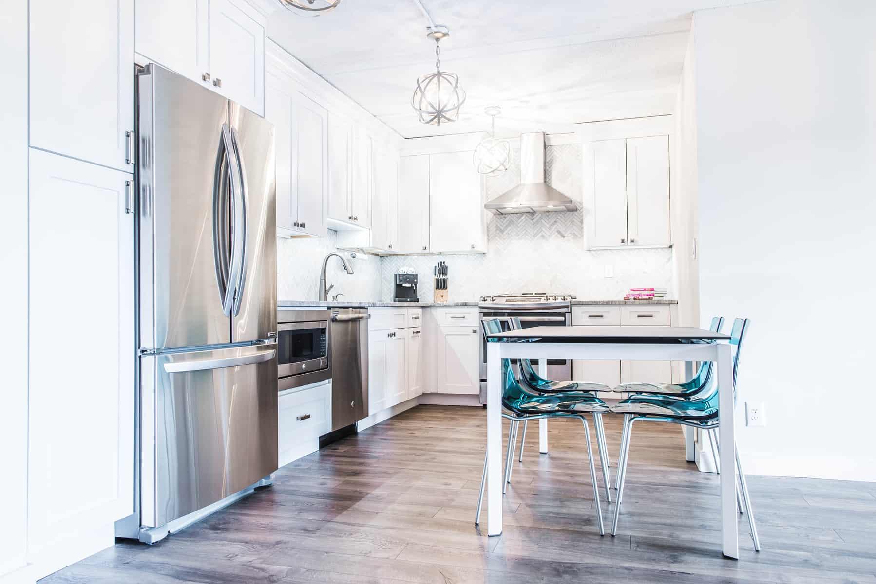 Harrison NY Kitchen remodel by RAJ Kitchen and bath