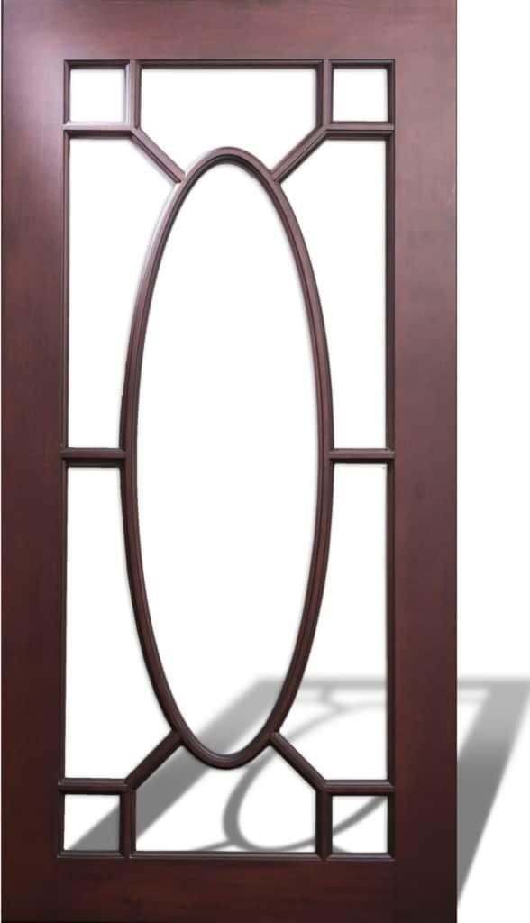 Glass door style